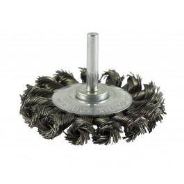 Twist Knot Wheel Brush - Steel Wire