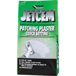 Jetcem Quick Set Patching Plaster