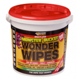 Monster Wonder Wipes Tub
