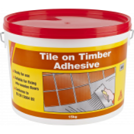 SikaCeram Tile on Timber Adhesive