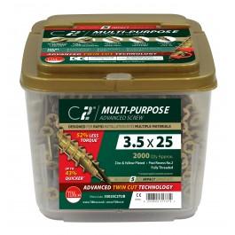 C2 Multi Purpose Screw - Tub
