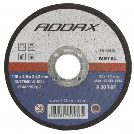 Bonded Abrasive Disk Blade - Thin