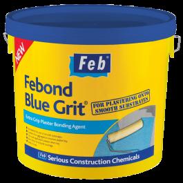 Febond Blue Grit Plaster Bonding Agent 10 Litre