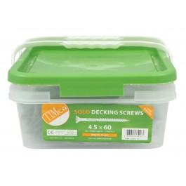 Solo Timber & Decking Screw - Tub