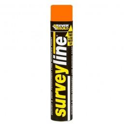Surveyline Line Marking Paint 700ml - Orange