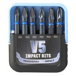 V5 Impact Driver Bit Set - Pozi