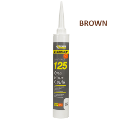 125 One Hour Caulk Brown