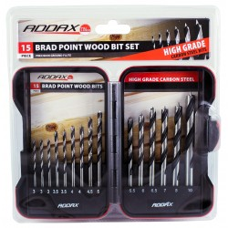 Brad Point Drill Bit Set