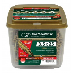C2 Multi Purpose Screw - Tub