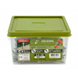 C2 Advanced Decking & Timber Screw - Tub