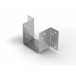 50mm Timber to Timber Mini Joist Hanger Galvanised - Box of 10