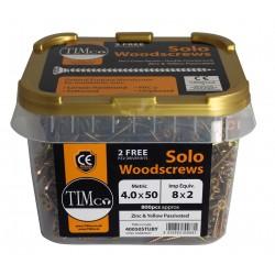 Solo Woodscrew - Tub