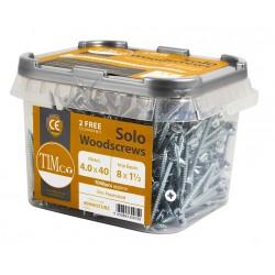 Solo Woodscrew - Zinc Tub