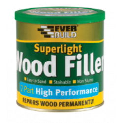Superlight 2 Part High Performance Wood Filler