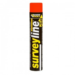 Surveyline Line Marking Paint 700ml - Red