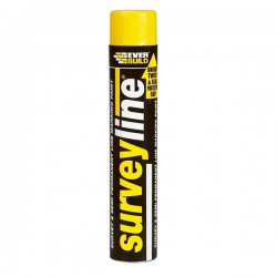 Surveyline Line Marking Paint 700ml - Yellow