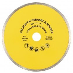 Porcelain & Ceramic Continuous Rim Disk Blade
