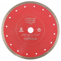 Porcelain & Ceramic Diamond Disk Blade - Thin Turbo